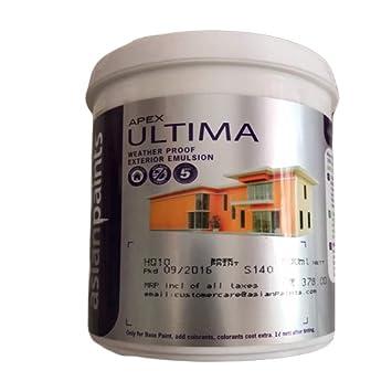 Asian Paints Apex Ultima Waterproof Hq2 Base Paint 1 L Amazon In Home Improvement