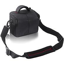 FOSOTO Waterproof Anti-shock Camera Case Bag for Canon Powershot SX540 SX530 SX60 SX420 HS,Nikon Coolpix L340 B500 L330 L840 L830 L620 P550 P610,Fujifilm X-T3,Panasonic LUMIX,Sony a6000 Digital Camera