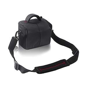 FOSOTO Waterproof Anti-shock Camera Case Bag for Canon Powershot SX540 SX530 SX60 SX420 HS,Nikon Coolpix L340 B500 L330 L840 L830 L620 P550 P610,Panasonic LUMIX,Sony a6000 Digital Camera