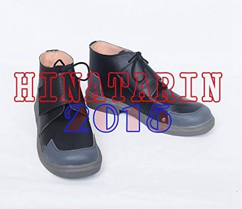 コスプレブーツ/靴 ペルソナ5 坂本 竜司(さかもと りゅうじ)風 黒い靴(22.5-28選択可)