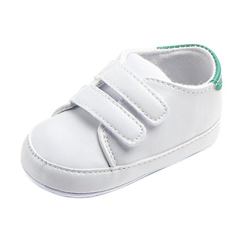 Miuye Kid's Shoes Infant Toddler Baby Boy Girl Soft Sole Crib Shoes Sneaker Newborn Toddler/Little Kid Green