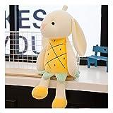HYL World 13.8'' Cute Rabbit Plush Toy Soft Stuffed Fruit Animal Bunny Doll Pillow-Pineapple Rabbit