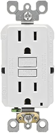 Leviton GFNT1 W Smartlockpro Non Tamper Resistant Receptacle