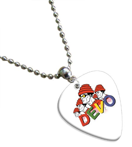 Devo Guitare Pick Collier Band Médiator