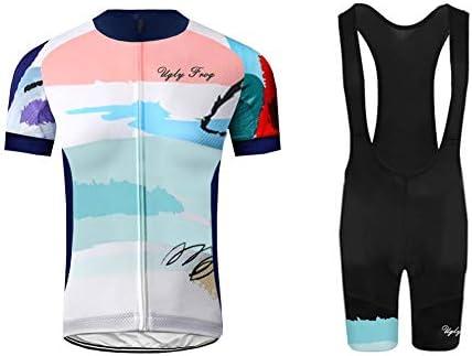 Uglyfrog MTB Ciclismo Maillot Hombres Jersey + Pantalones Cortos ...