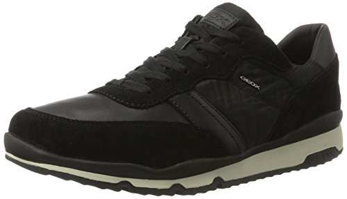 Geox Herren U Sandford B Sportschoen Zwart (black)