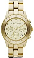 Marc Jacobs Chrono Glitz Gold Dial Women's Watch MBM3101 from Marc Jacobs