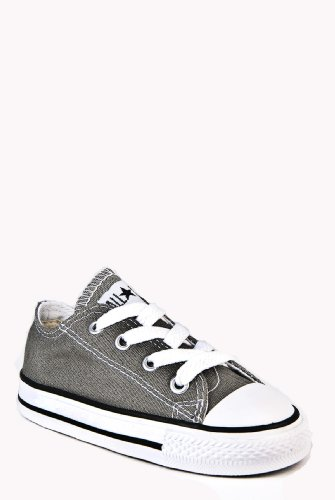 Converse CT All Star Ox Charcoal Toddlers Trainers Toddlers 4 UK