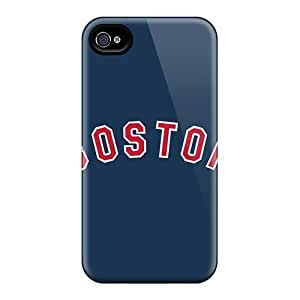 For Iphone 4/4s Protector Case Baseball Boston Red Sox 3 Phone Cover