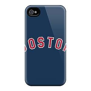 Excellent Design Baseball Boston Red Sox 3 Phone Case For Iphone 4/4s Premium Case