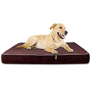 Amazon.com : KOPEKS 4'' Orthopedic Memory Foam Dog Bed