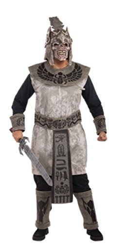 Scorpion Warrior Adult Costumes (Adult Egyptian Skull Warrior Costume - Scorpion King - Fits up to chest size 42 inch)