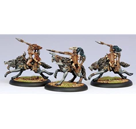 Privateer Circle Orboros Tharn Wolf Riders Light Cavalry Unit Box PIP 72086