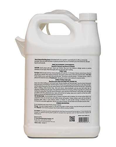 Harris Natural Bed Bug Killer, Fast Acting Non-Toxic Spray with Extended Residual (Gallon) by Harris (Image #5)