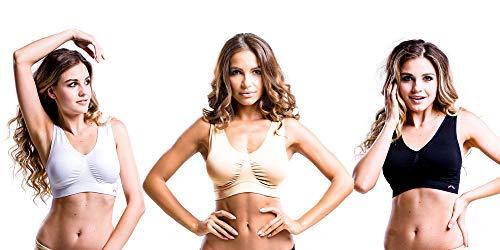 Slim Body Angels Shaping Seamless Wireless Wide Straps Long Lasting Comfort Bra (XL)