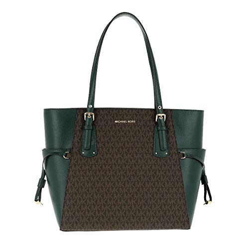 Voyager Leather Tote (Racing Green) ()