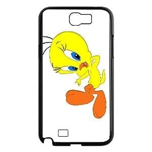 samsung n2 7100 phone case Black Tweety Bird XGE9471116