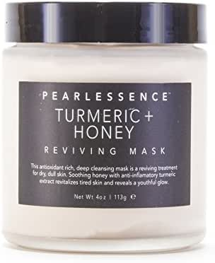 Pearlessence Clay Face Mask (Turmeric and Honey)