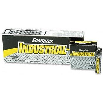 Amazon.com: Energizer EN92 Industrial Alkaline Batteries
