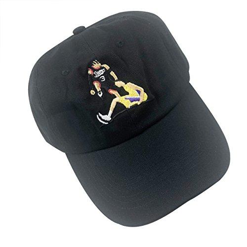 Guangping Liu Answer Step Over Dad Hat Men's Baseball Cap Embroidered Adjustable Strapback Black