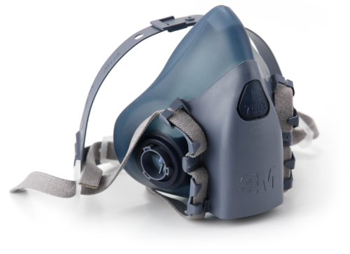 051131370821 - 3M 7500 7502 Series Professional Half Facepiece Respirator (Medium) carousel main 1