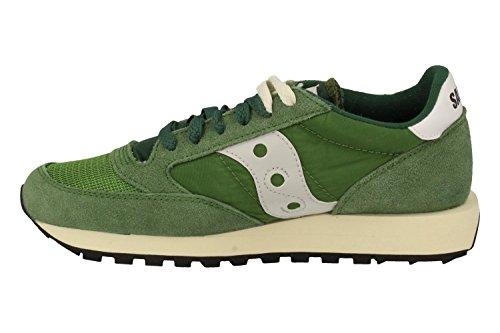 Saucony - Zapatillas para hombre verde verde, color verde, talla 44,5 EU
