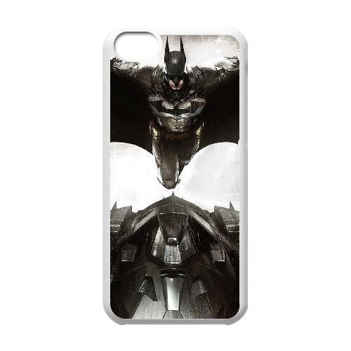 Batman Batmobile coque iPhone 5C Housse Blanc téléphone portable couverture de cas coque EBDOBCKCO09514