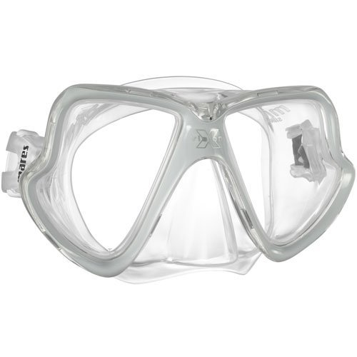 Mares X Vision MID Two Window Dive Mask (Clear / Grey)