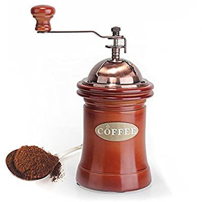 WAYERTY Ceramic Coffee Bean Grinder, Manual Grinders Hand Coffee Machine Ultra Grind Portable Coffee Mill Grinder