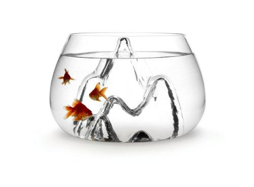 Aruliden Glasscape Glass Fish Bowl Small