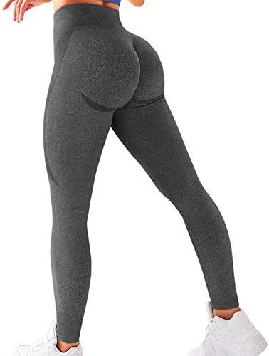 S.Ok LUXURY Women's Seamless Leggings Yoga Pants for Women Butt Lift Squat Proof