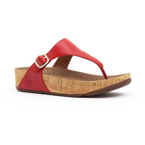 FitFlop The Skinny (Leather) FF Red 8 UK