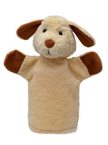 ABAfactory 71390 Sound Puppet - Dog - 25Cm'' Wooden Toys, Multi Colour, 25 cm ()