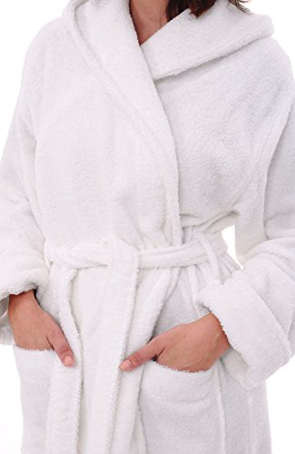 4de2625901 Del Rossa Women s Turkish Terry Cloth Robe
