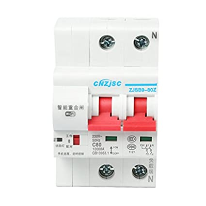 CNZJSC Wifi Smart Circuit Breakers 4P
