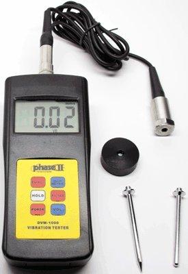 Phase II+, Digital Vibration Tester, #DVM-1000