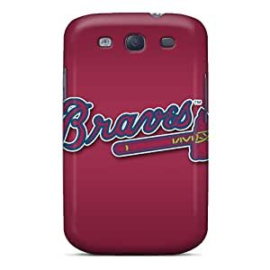 Top Quality Case Cover For Galaxy S3 Case With Nice Atlanta Braves Appearance