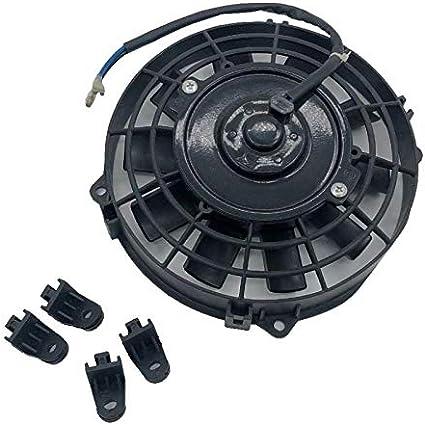 8 Radiador Termo Eléctrico Ventilador de Refrigeración para ...