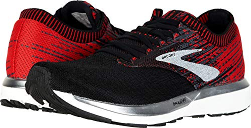 Brooks Men's Ricochet Black/Ebony/Red 11.5 D US