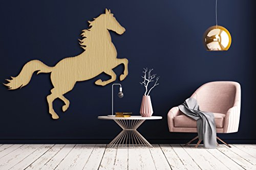 Horse Leap Race Jump Unpainted Unfinished Wood Cutout Raw Shapes Sign - Races Wood Sign