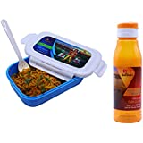 SARANGWARE Spiritual Lunch Box (350ml) with Water Bottle (700ml) for Kids