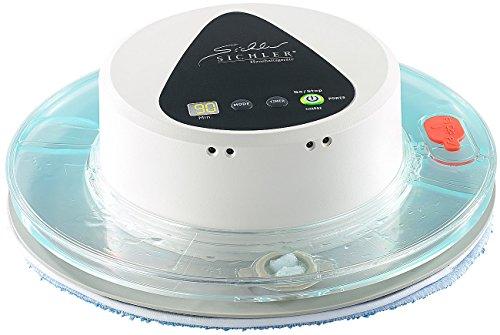 Sichler Haushaltsgeräte Boden-Wisch-Roboter PCR-1150, Nass- & Trockenreinig., Display + Timer