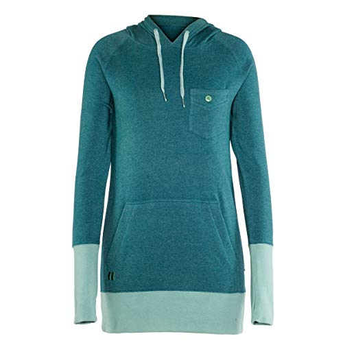 Armada Feather Pullover Womens Hoodie - Small/Lake by Armada