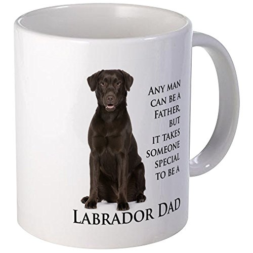 CafePress Chocolate Lab Dad Mug Unique Coffee Mug, Coffee - Mug Chocolate Lab