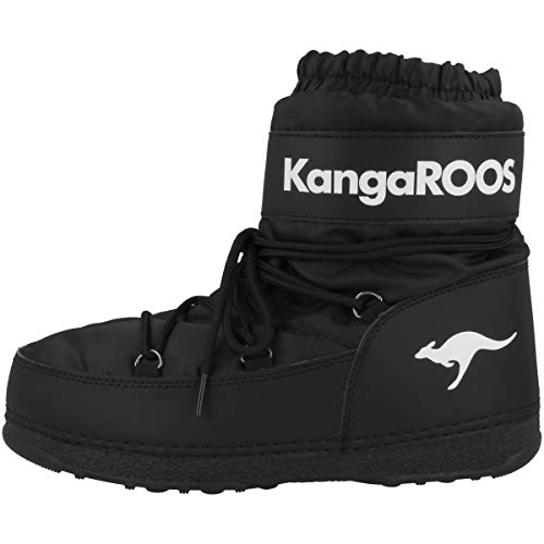 Bottes Enfant Moon Black 5001 Mixte Souples KangaROOS Jet Schwarz K nPWq77