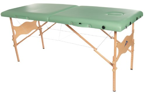 3B Scientific W60601G-1 Wood Basic Portable Massage Table...