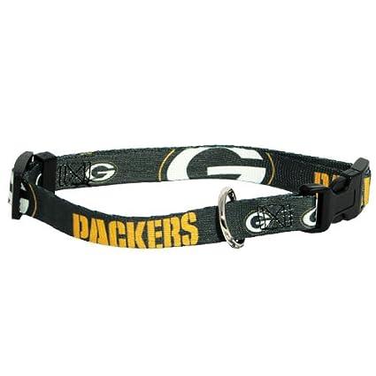 e7fbfb1c841 Amazon.com : Hunter MFG Green Bay Packers Dog Collar, Small : Pet ...
