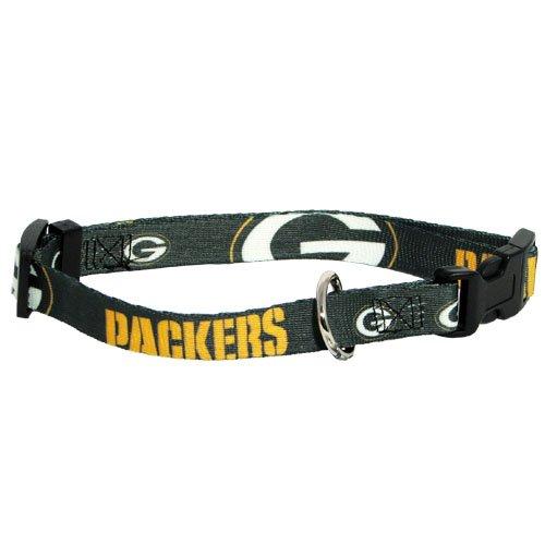 Hunter MFG Green Bay Packers Dog Collar, Small