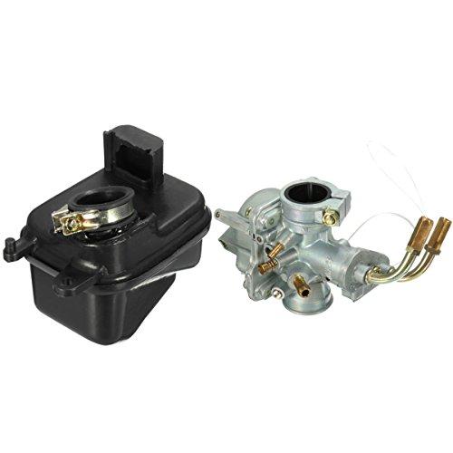 JenNiFer Carburetor and Air Filter Box For Yamaha PEEWEE PW50 PY50: