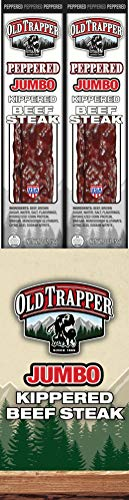 (Old Trapper Kippered Beef Jerky, Peppered, 2 Ounce (Pack of 12))